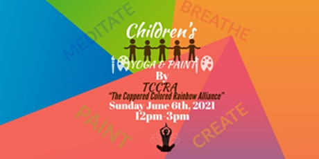 Children's YOGA and PAINT tickets