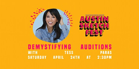 Demystifying Auditions :: Tess Paras tickets