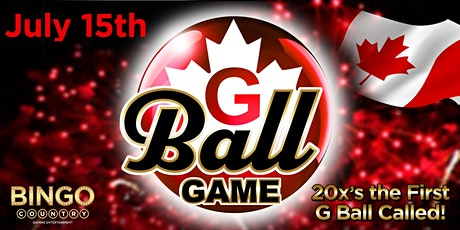 """""""G"""" Ball Game - July 15th - Canada Day tickets"""