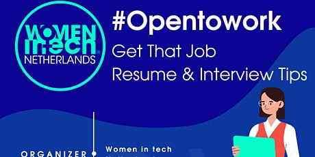 Get That Job - Interviews and Tips tickets