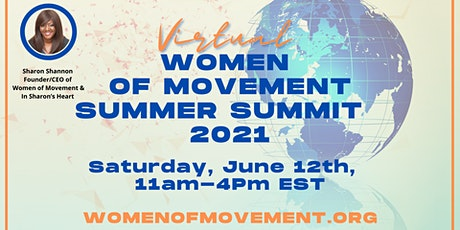 Virtual Women Of Movement Summer Summit 2021 tickets