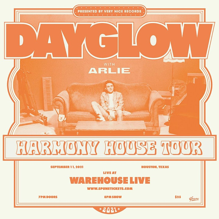 DAYGLOW: THE HARMONY HOUSE TOUR 2021 - with ARLIE image