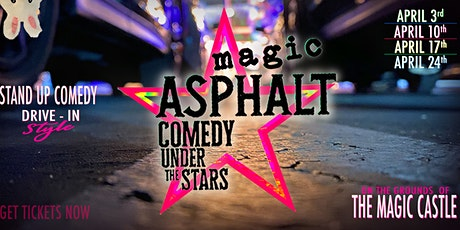 Copy of Magic Asphalt: Drive-in Comedy Under the Stars tickets