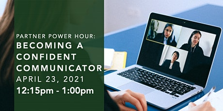 Partner Power Hour: Becoming a Confident Communicator tickets