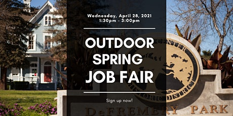 Outdoor Spring Job Fair - April 28, 2021 tickets