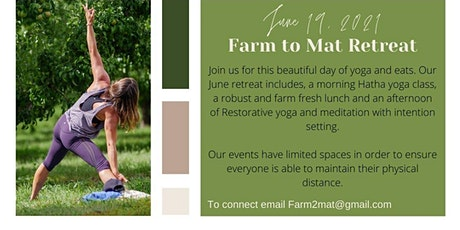 Farm to Mat Retreat tickets