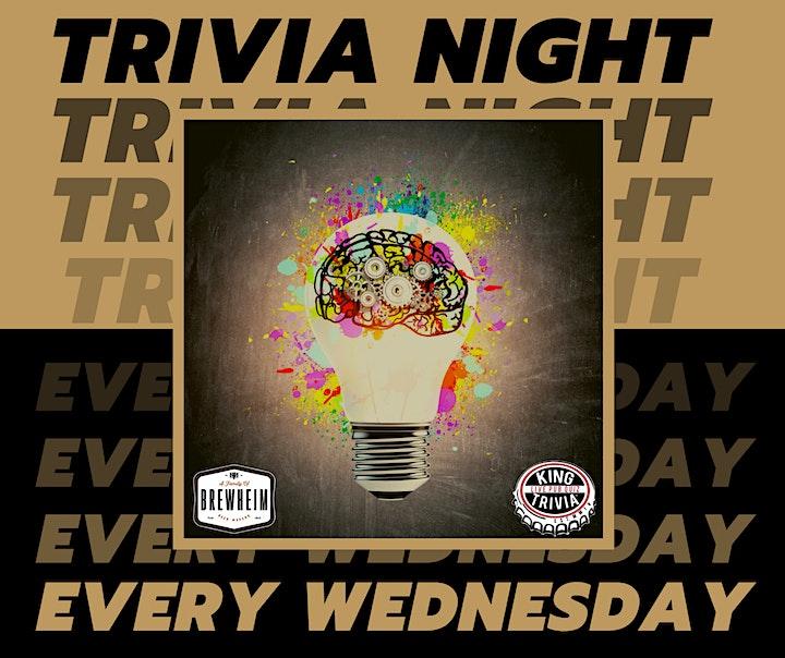 Trivia Night Wednesdays at Brewheim image