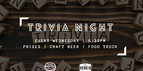 Trivia Night Wednesdays at Brewheim tickets