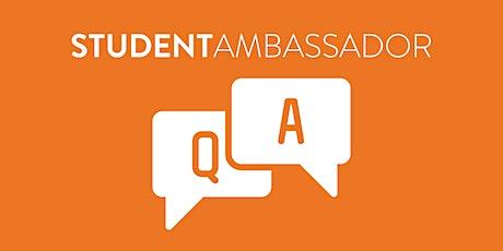 June RMCAD Student Ambassador Q+A tickets