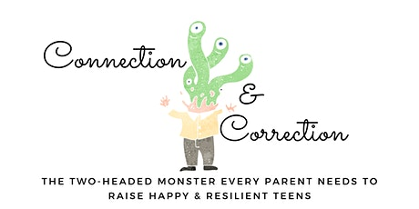 Effective Connection and Correction: A free webinar for parents with teens tickets
