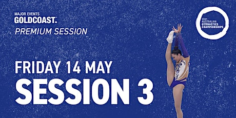 Day 2: Session 3 - 2021 Australian Gymnastics Championships tickets