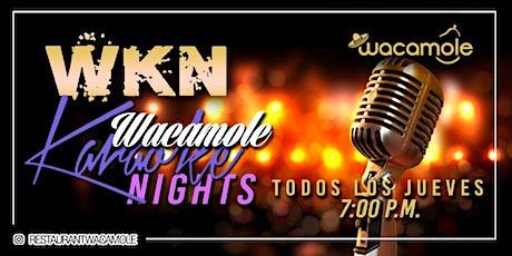 Wacamole Karaoke Nights! entradas