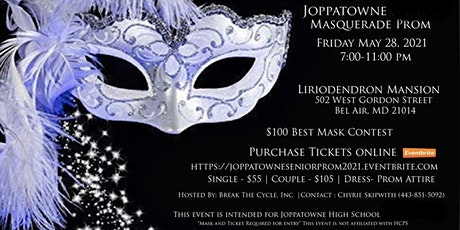 Joppatowne High School Masquerade Prom tickets