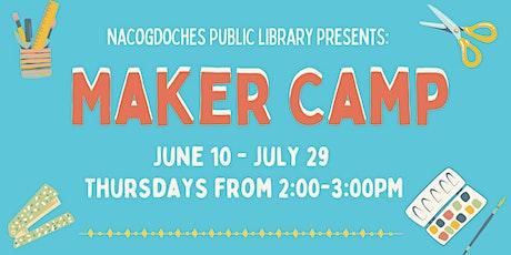 Maker Camp tickets