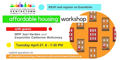 Affordable Housing Workshop tickets