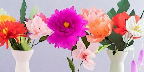 Paper Flowers Virtual Workshop tickets