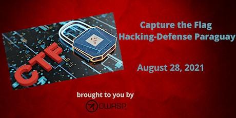 OWASP's Call To Battle: Capture the Flag Hacking-Defense Paraguay entradas