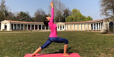 Yoga all'aperto biglietti