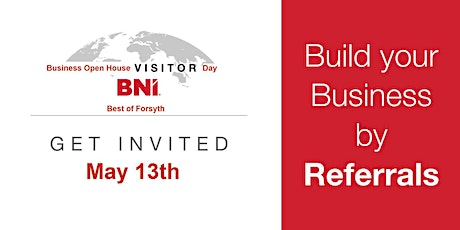 BNI BEST of FORSYTH Business Open House entradas