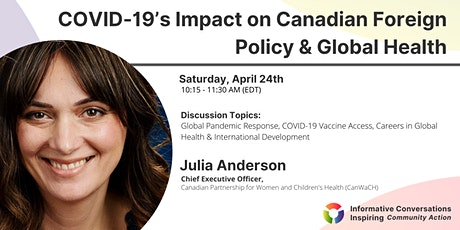 COVID-19's Impact on Canadian Foreign Policy & Global Health tickets