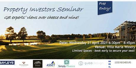 Property Investors Seminar tickets