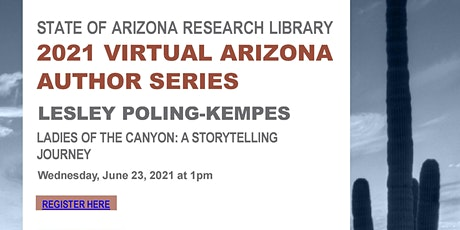 "Lesley Poling-Kempes ""Ladies of the Canyons: A Storytelling Journey"" tickets"