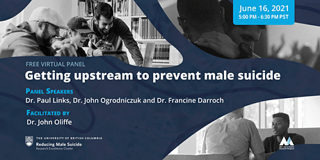 Getting upstream to prevent male suicide tickets