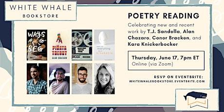 Poetry Reading: Sandella, Chazaro, Bracken, and Knickerbocker tickets