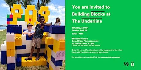 Building Blocks at The Underline tickets