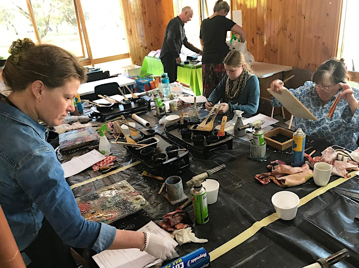 Encaustic Workshop With Mo Godbeer image