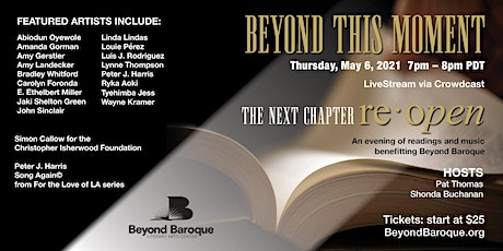 Beyond This Moment: A Beyond Baroque Virtual Benefit tickets