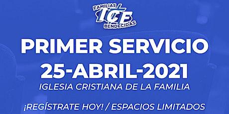 Servicio ICF - 25 de abril de 2021 - Primer Servicio - 8AM entradas