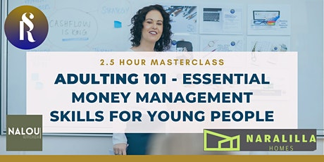 Adulting 101 - Essential Money Management Skills f tickets