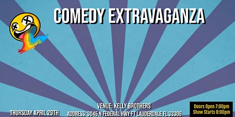"""Comedy Extravaganza at """"Kelly Brothers"""" tickets"""