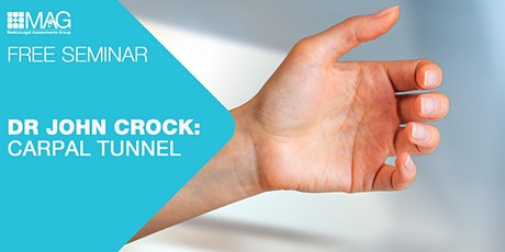 Seminar with Dr John Crock: Carpal Tunnel tickets