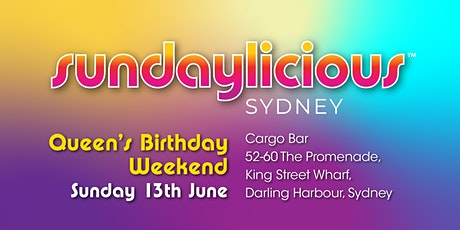 Sundaylicious Sydney - QUEEN'S BIRTHDAY WEEKEND tickets