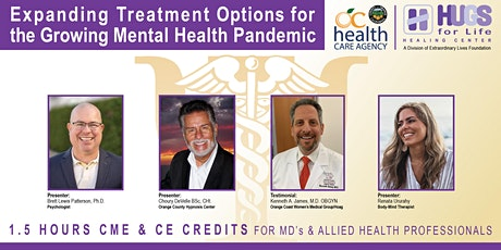 Expanding Treatment Options for  the Growing Mental Health Pandemic tickets