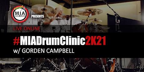 #MIADrumClinic2K21 tickets