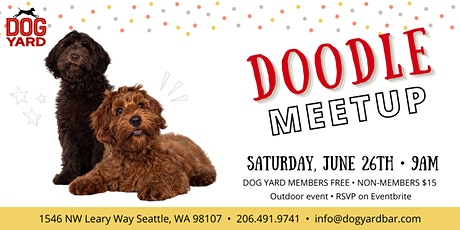 Seattle Doodle Meetup at the Dog Yard tickets