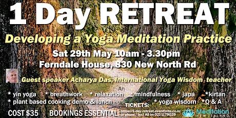 1 Day RETREAT - Develop a Yoga Meditation Practice tickets
