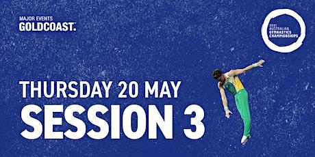 Day 6: Session 3 - 2021 Australian Gymnastics Championships tickets