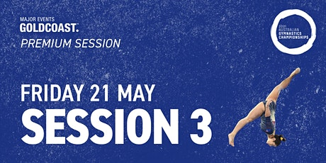 Day 7: Session 3 - 2021 Australian Gymnastics Championships tickets