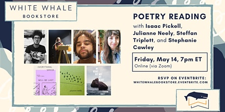 Poetry Reading: Pickell, Neely, Triplett, and Cawley tickets