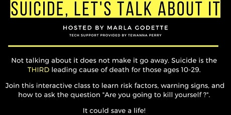 Question Persuade Refer - How to respond to suicide. tickets