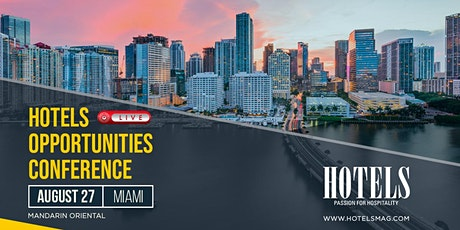 HOTELS Opportunities Conference tickets