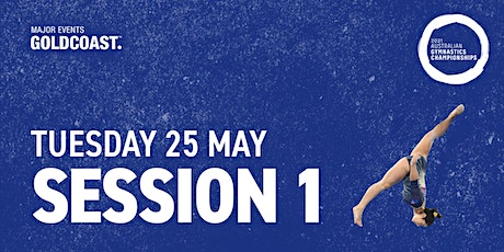 Day 11: Session 1 - 2021 Australian Gymnastics Championships tickets