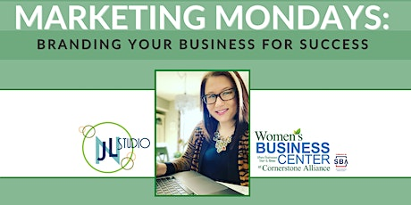 Marketing Mondays: Branding Your Business for Success tickets