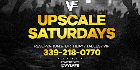 Upscale Saturday's tickets