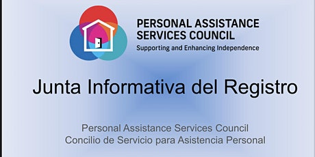 Sesión Informativa sobre el Registro - Mayo 2021 entradas