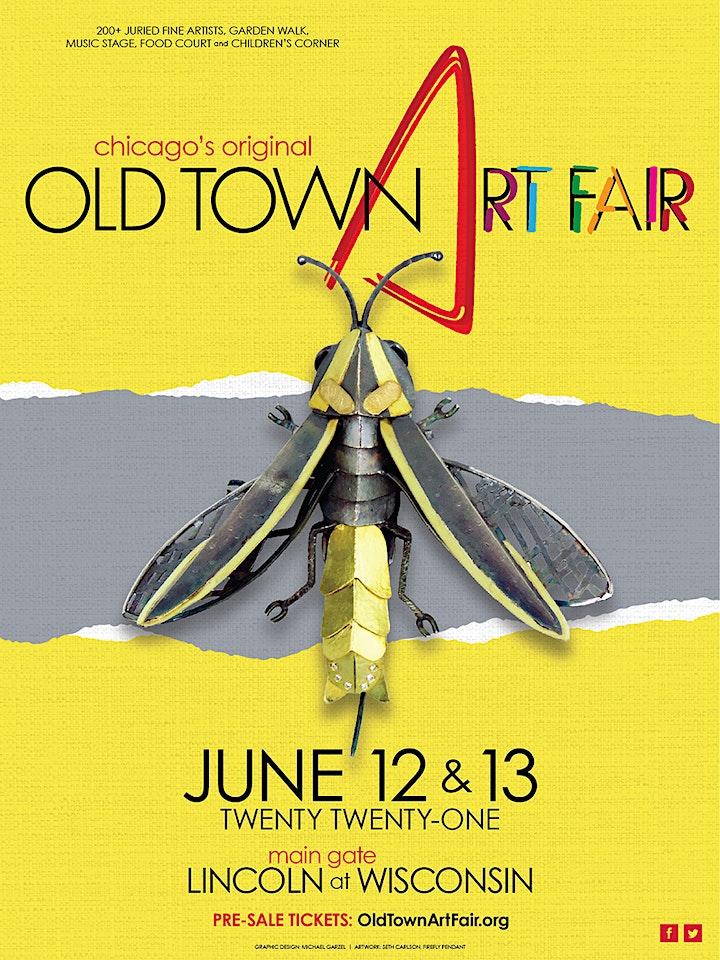 2021 Old Town Art Fair - Sunday June 13, 11 am image